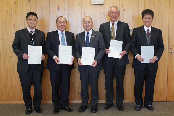 香美市と福祉避難所の協定書を締結しました
